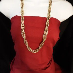 """Goldtone Necklace Chain 16"""""""